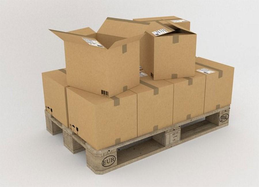 Transport de marchandise palettisé