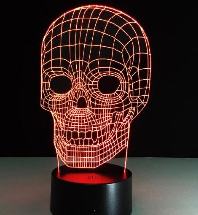 crâne de mort