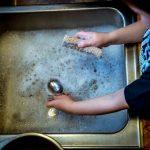 lavage évier